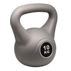Basics Brand Plastic Kettlebell 10kg
