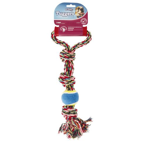 Pet Team Tugger 3 Knot Large