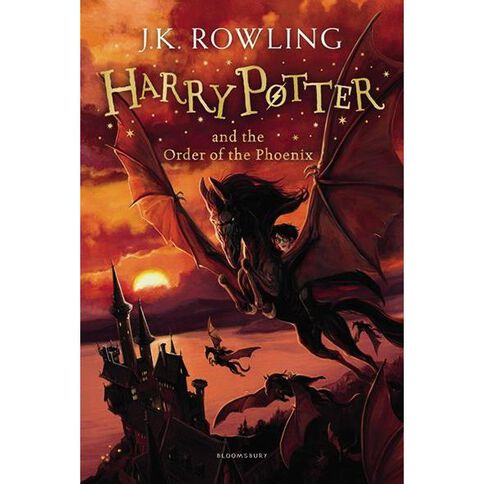 Harry Potter #5 The Order of the Phoenix by JK Rowling
