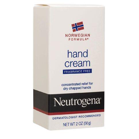 Neutrogena Norwegian Formula Hand Cream Fragrance Free 56g
