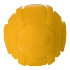 NERF Dog Glow Ball Orange 2.5 inch Small