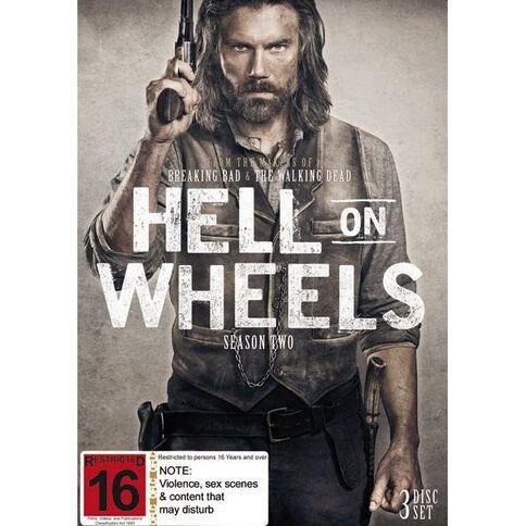 Hell On Wheels Season 2 DVD 4Disc