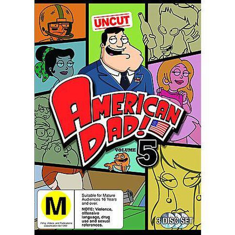 American Dad Series 5 DVD 3Disc