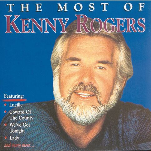 Most of CD by Kenny Rogers 1Disc