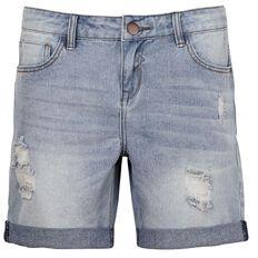 Garage Denim Boyfriend Shorts