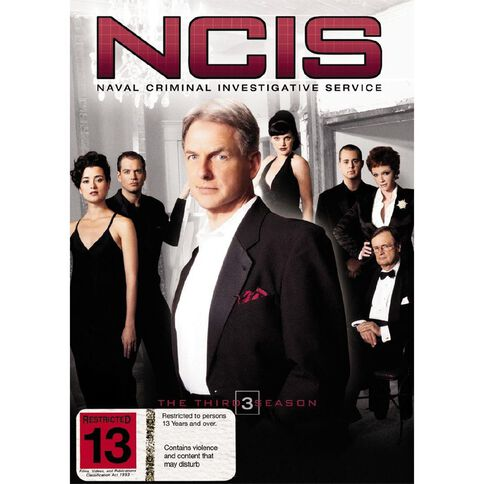 NCIS Season 3 DVD 6Disc