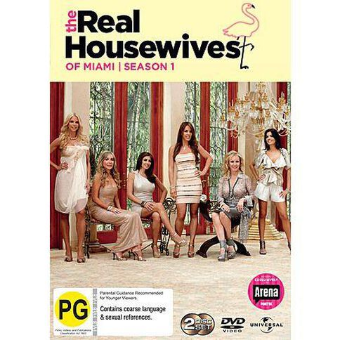 The Real Housewives Of Miami Season 1 DVD 2Disc