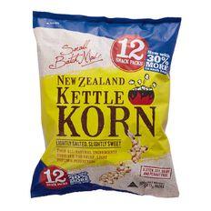 NZ Kettle Korn Multi 12 Pack 204g