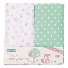Rocco And Tolly Forest Friends Wrap 2 Pack