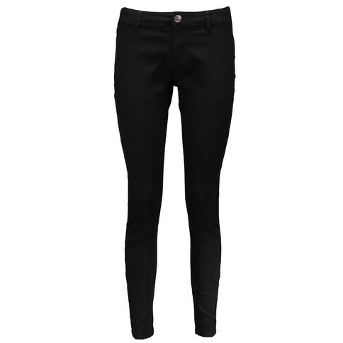 Amco Women's Plain Skinny Jeans