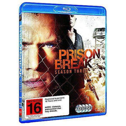 Prison Break Season 3 Blu-ray 4Disc