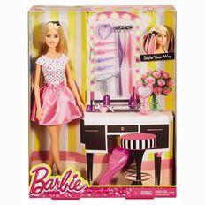 Barbie Doll & Hair Accessories