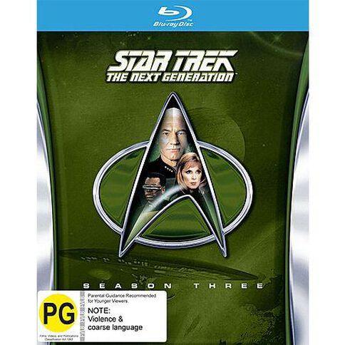 Star Trek The Next Generation S3 Blu-ray 1Disc