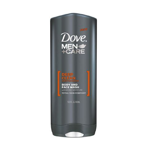 Dove Men Body and Face Wash Deep Clean 400ml