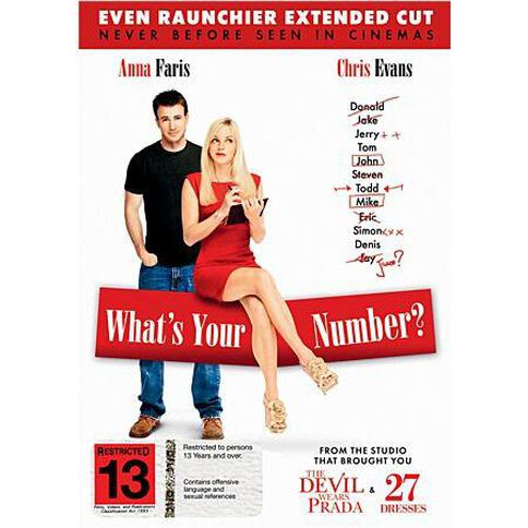 What's Your Number DVD 1Disc
