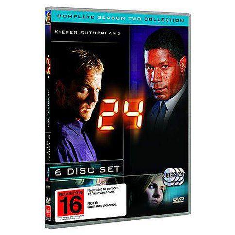 24 Season 2 DVD 6Disc