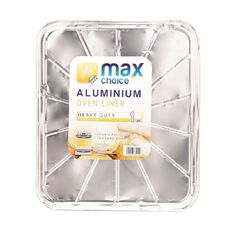 Max Choice Foil Oven Liner