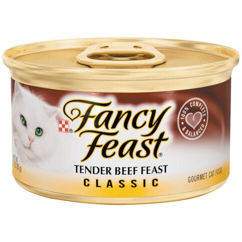 Fancy Feast Tender Beef 85g
