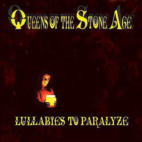 Lullabies to Paralyze CD by Queens Of The Stone Age 1Disc