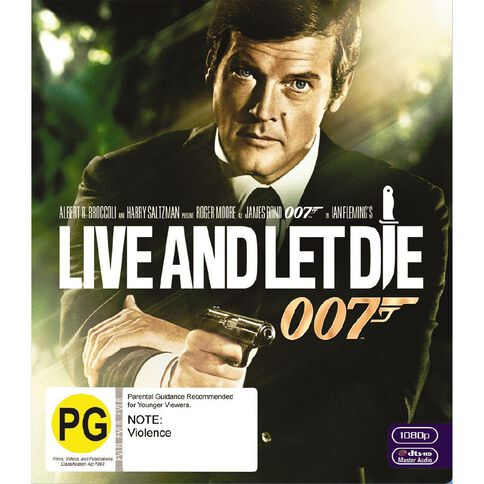 Live And Let Die 2012 Version Blu-ray 1Disc
