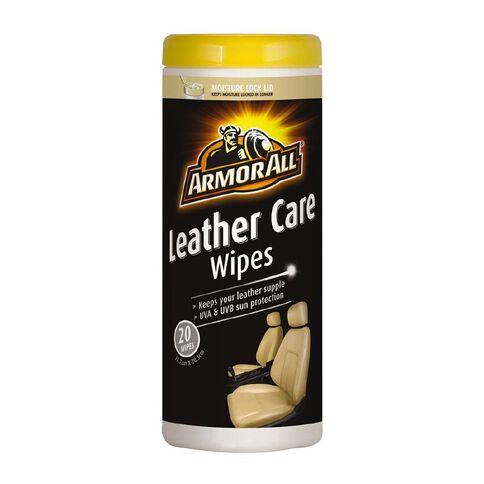 Armor All Leather Wipes 20 Pack