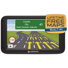 Navman GPS Navigation Device MOVE70LM Black