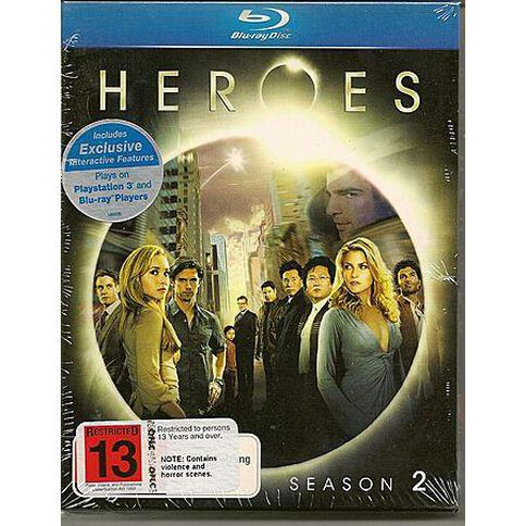 Heroes Season 2 Blu-ray 4Disc
