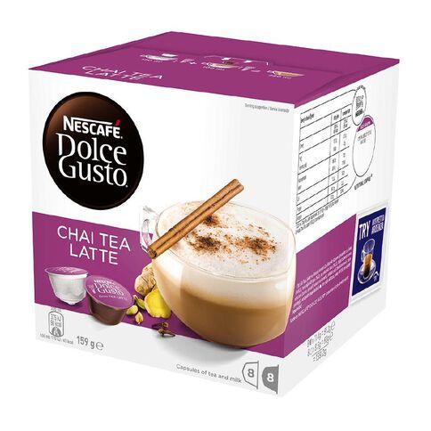 Nescafe Capsules Chai Tea Latte 8 Pack