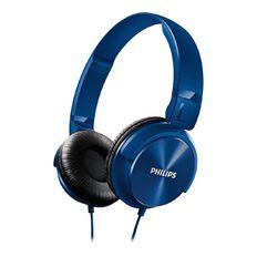 Philips DJ Style Headphones SHL3060 Blue