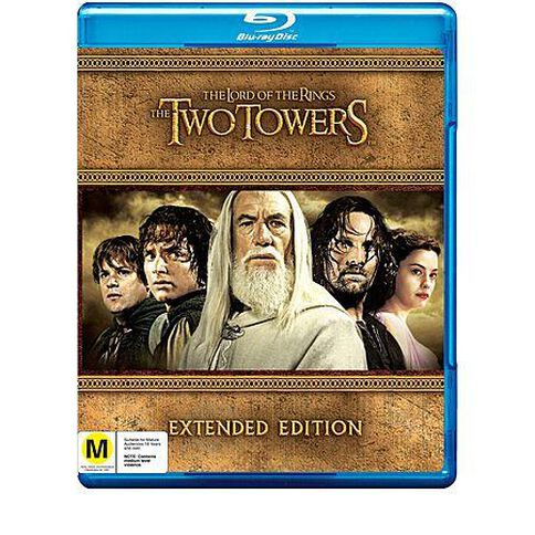 Lord of the Rings The Two Towers Blu-ray 5Disc