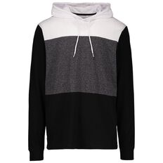 Match Long Sleeve Hooded Panel Tee
