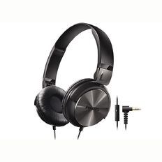 Philips On Ear Headphones SHL3165 with Mic Black