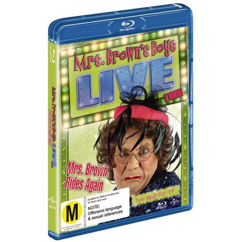 Mrs Brown Rides Again The Live Tour Blu-ray 1Disc