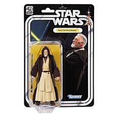 Star Wars Ben Obi Wan Kenobi Black Series 40th Anniversary Figure 6 inch