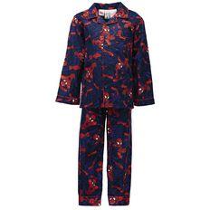 Spider-Man Boys' Flannelette Pyjama