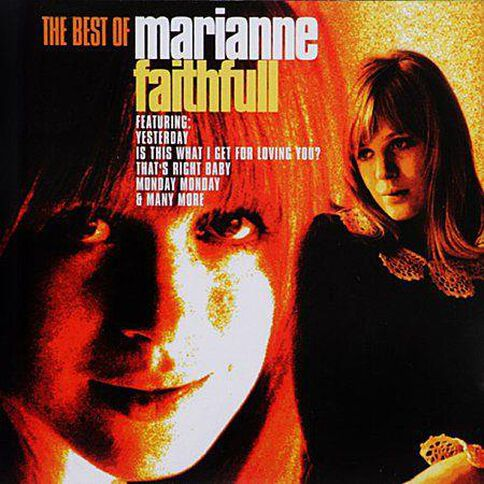 The Best of CD by Marianne Faithfull 1Disc