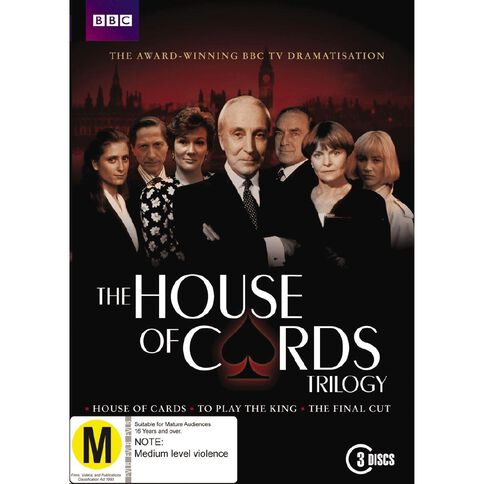 House of Cards Trilogy DVD 3Disc
