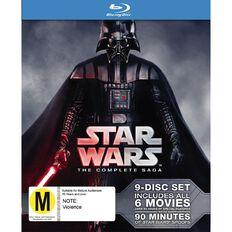 Star Wars The Complete Saga Blu-ray 9Disc