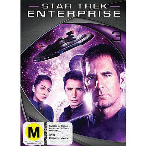 Star Trek Enterprise Season 3 DVD 1Disc