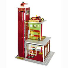 Fire Station Wooden Height 60cm