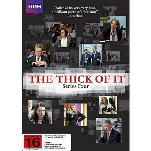 The Thick of It Season 4 DVD 2Disc