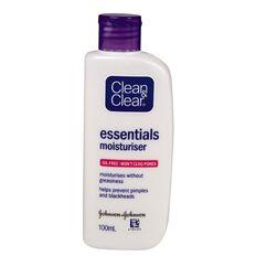 Clean & Clear Essentials Moisturiser 100ml