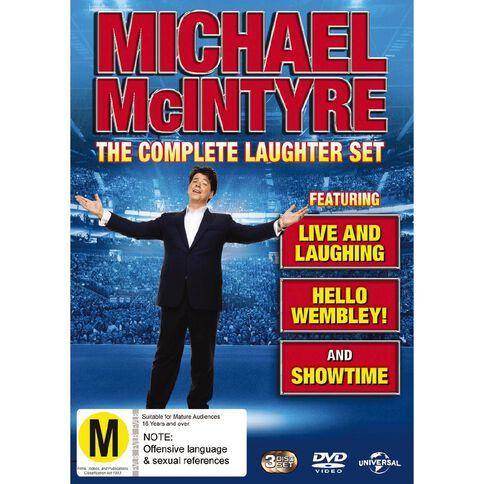 Michael Mcintyre Live DVD 3Disc