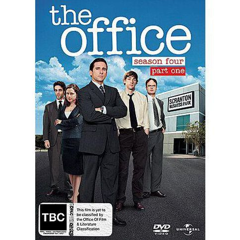 The Office Season 4 Part 1 DVD 2Disc