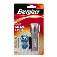 Energizer 6 LED Metal Torch