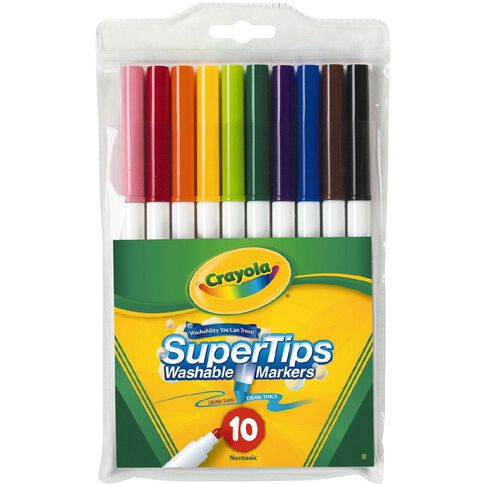 Crayola Super Tip Markers 10 Pack