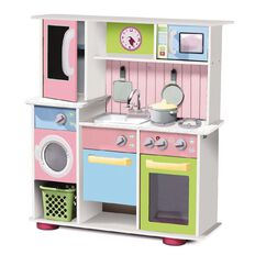 Play Kitchen Deluxe Wooden