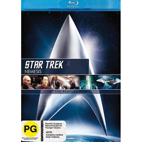 Star Trek 10 Nemesis Blu-ray 1Disc