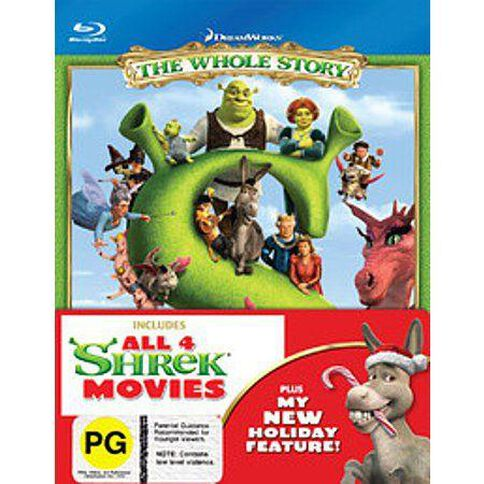 Shrek: The Whole Story Blu-ray 5Disc
