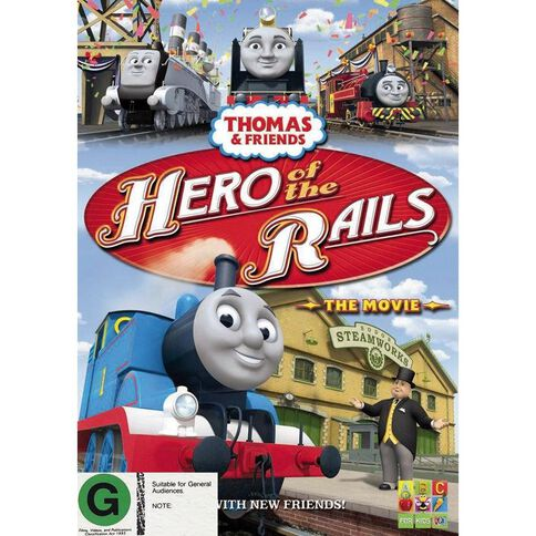 Thomas and Friends Hero of The Rails DVD 1Disc